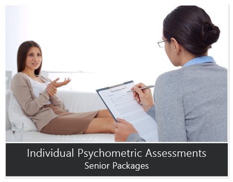 Individual Psychometric Assessments Senior Packages